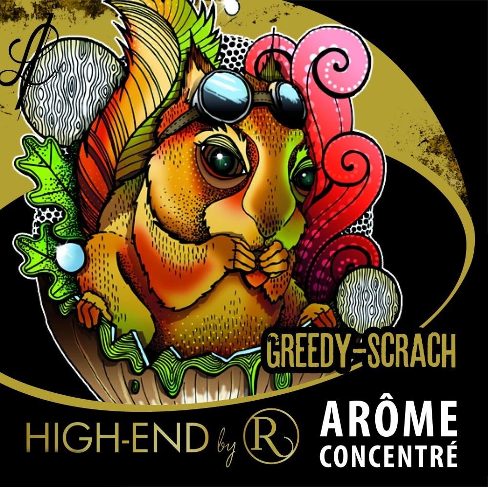 Revolute High-End: Greedy-Scratch (Lískové ořechy a pralinky) Množství: 1,5ml