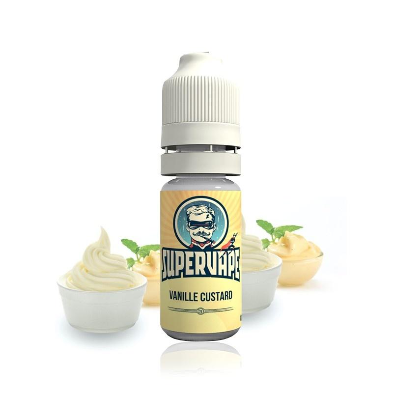Příchuť Supervape: Vanilkový pudink (Vanilla Custard) Množství: 1,5ml