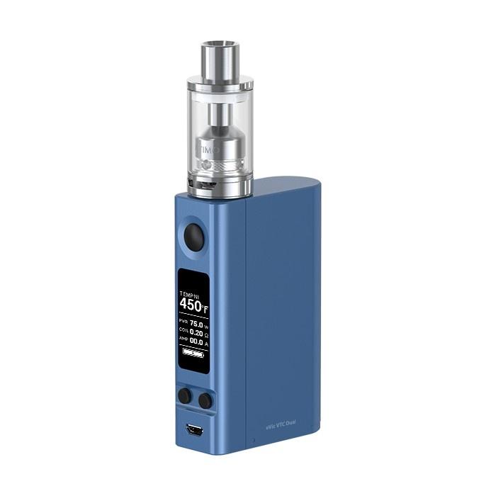 Joyetech eVic VTC Dual sada s ULTIMO clearomizérem Barva: Modrá