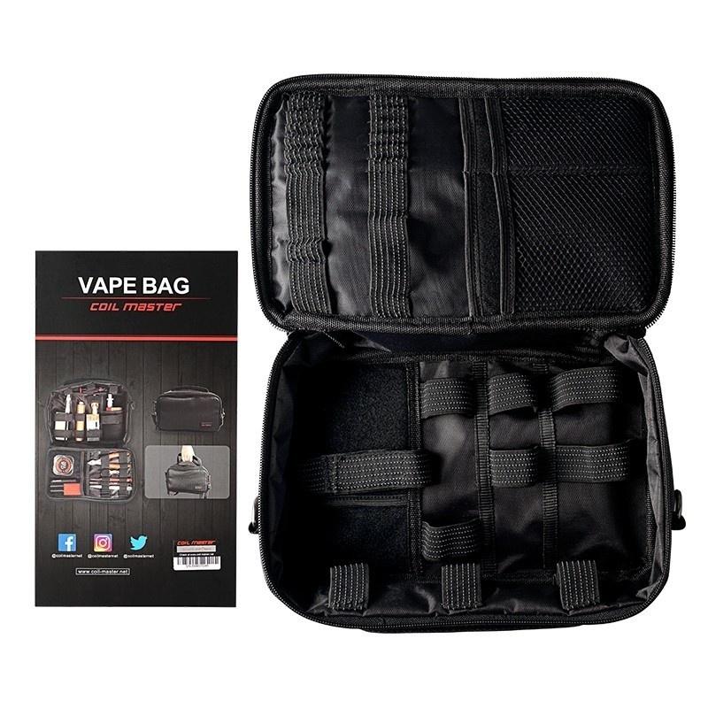 Univerzální brašna Coil Master Vape Bag Barva: Černá, Materiál: Nylon