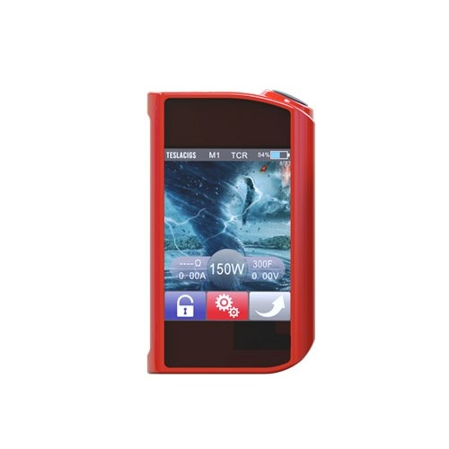 Elektronický grip Tesla Touch 150W TC Barva: Červená