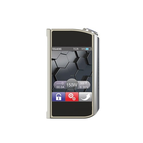 Elektronický grip Tesla Touch 150W TC Barva: Stříbrná