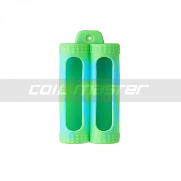 Coil master pouzdro pro 2x18650 baterie Barva: Zelená camuflage, Materiál: Silikon