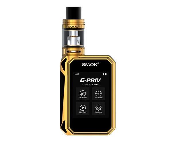 Smoktech SMOK G-Priv 220W kompletní sada s TFV8 Big Baby Barva: Zlatá + 2KS BATERIE SONY VTC4 2100MAH ZDARMA