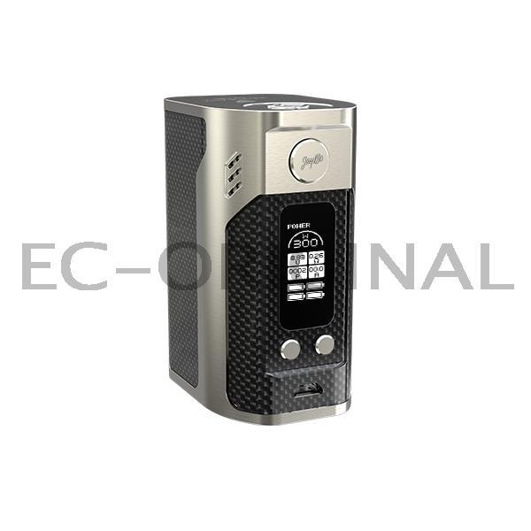 WISMEC Reuleaux RX300 TC Mód - karbonový povrch Barva: Stříbrná