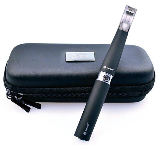 Kožené pouzdro na e-cigarety Joyetech S Barva: Černá
