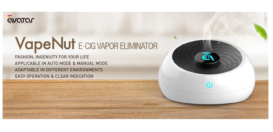 Avatar VapeNut - pohlcovač páry z e-cigaret