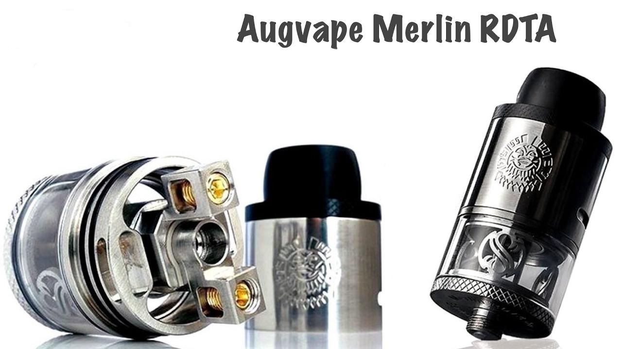 AUGVAPE Merlin RDTA Barva: Stříbrná