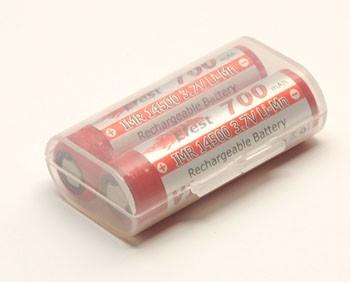 Efest Pouzdro pro baterie 2x14500 Průhledné