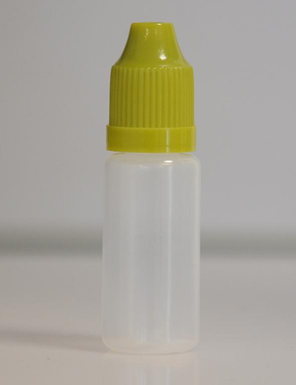 Tobeco Prázdná lahvička komplet 10ml PE (víčko Zelená tmavá)
