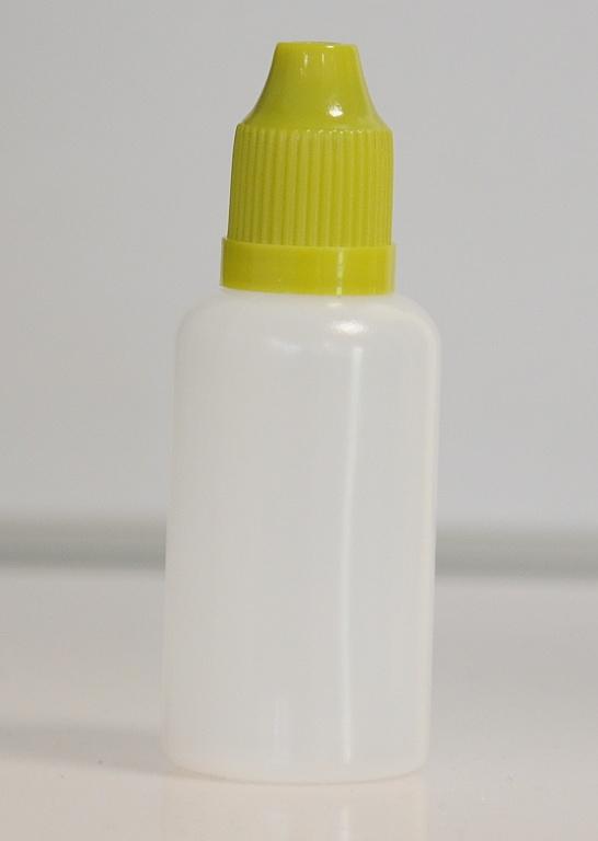Tobeco Prázdná lahvička komplet 30ml PE (víčko Zelená tmavá)