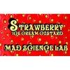 Strawberry Ice Cream Custard