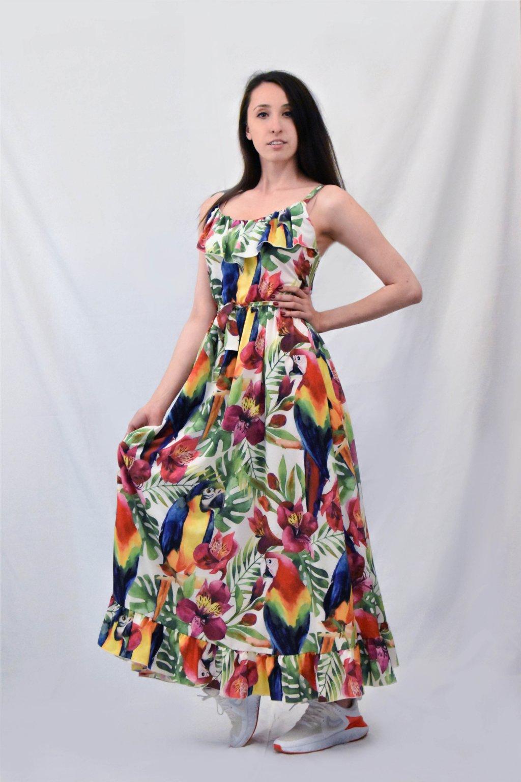 barvné šaty bok 02