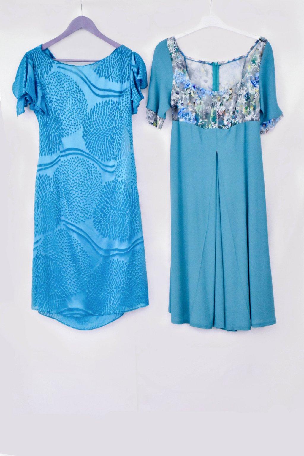 modré šaty všechny celé