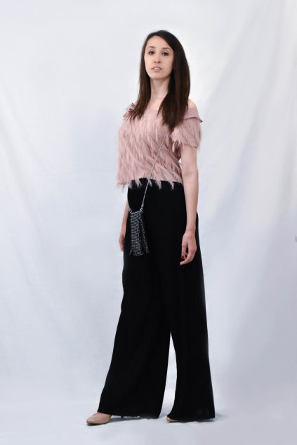 kalhoty a top bok