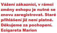 Ecigareta Marion - Elektronické cigarety