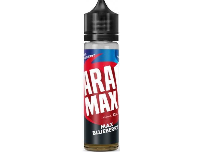 Příchuť Aramax Shake and Vape Max Blueberry 12ml