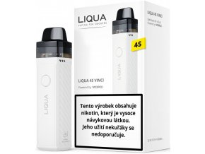 Liqua 4S Vinci grip 1500mAh White
