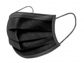 Jednorázová rouška černa