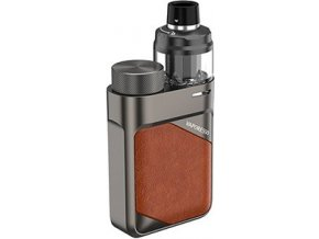 Vaporesso SWAG PX80 grip Full Kit Leather Brown