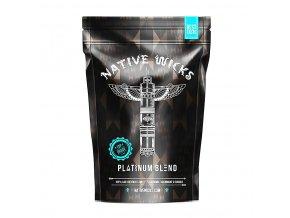 Native Wicks - Platinum Blend - Přírodní vata - 12 m