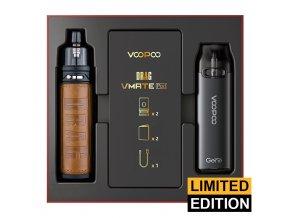 VOOPOO Drag S + VMATE Pod - Limitovaná edice (Retro & Space Gray)