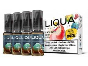 LIQUA MIX 4Pack Chocolate Mint 10ml 3mg