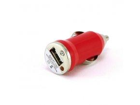 autonabijecka pro elektronicke cigarety 12v mini cervena