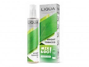 Příchuť Liqua Mix&Go 12ml Bright Tobacco