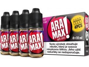 aramax 4pack max berry 4x10ml