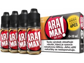 aramax 4pack max peach 4x10ml