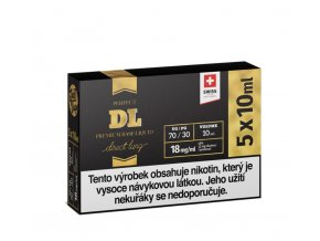 Booster báze JustVape DL 5x10ml 18mg