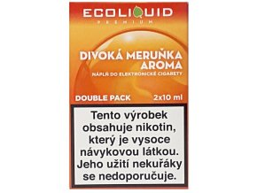 Liquid Ecoliquid Premium 2Pack Wild Apricot 2x10ml - 0mg