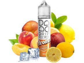 Příchuť Drip Down Shake and Vape Peach Lemonade Ice 18ml