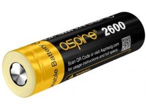 aSpire ICR baterie typ 18650 2600mAh 20A/40A