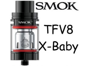 Smoktech TFV8 X-Baby clearomizer Black