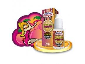 E-liquid American Stars 10ml / 0mg: Peach's Peaches