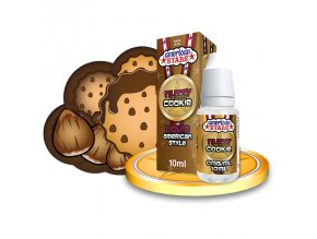 E-liquid American Stars 10ml / 0mg: Nutty Buddy Cookie