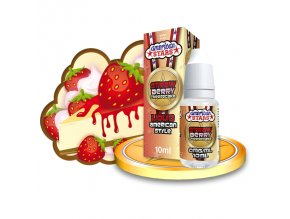 E-liquid American Stars 10ml / 0mg: Strawberry Cheesecake