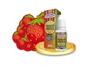 E-liquid American Stars 10ml / 0mg: Strawberry Fields Forever
