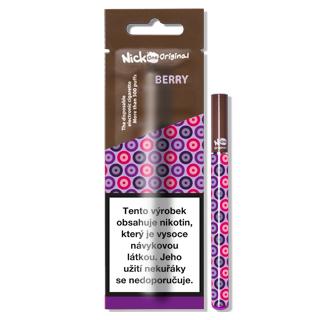 Nick2Go 4ages, s.r.o. Jednorázová e-cigareta Nick One Original Berry 6mg
