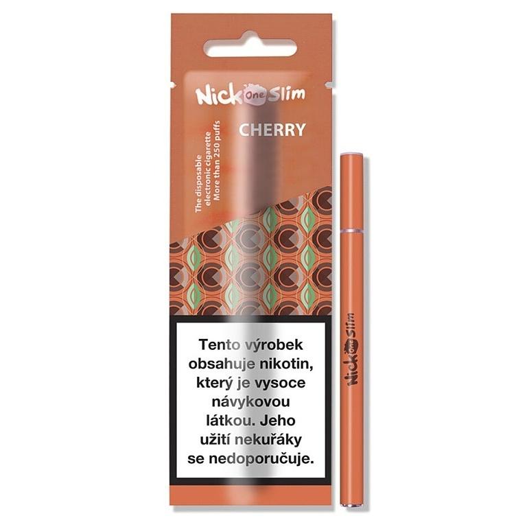 Nick One Slim elektronická cigareta Cherry 6mg