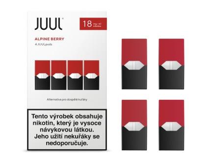 JUUL Labs Inc. Cartridge Alpine Berry 18mg 2ks