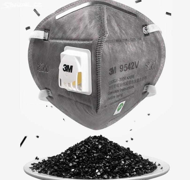 Respirátor 3M s Aktivním karbonovým filtrem