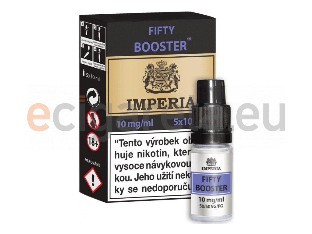 fifty booster cz imperia 5x10ml pg50vg50 10mg