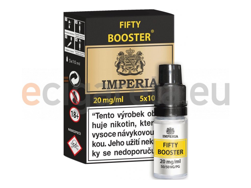 fifty booster cz imperia 5x10ml pg50vg50 20mg