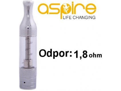aSpire ET-Victory BVC clearomizer 3ml 1,8ohm Clear