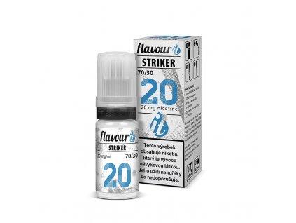 flavourit striker 70 30 dripper 20mg booster 10ml