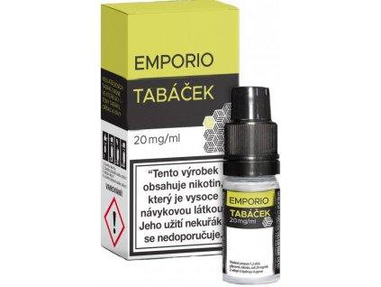 emporio salt tobacco tabacek 10ml 20mg