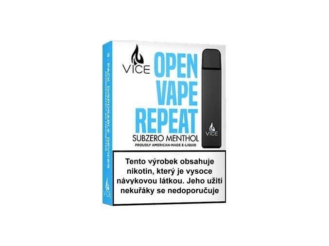 VICE elektronická cigareta Subzero Menthol 20mg 3Pack